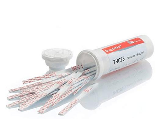 Test de drogas para Cannabis (Marijuana- Hashish) -25 Test en el tubo