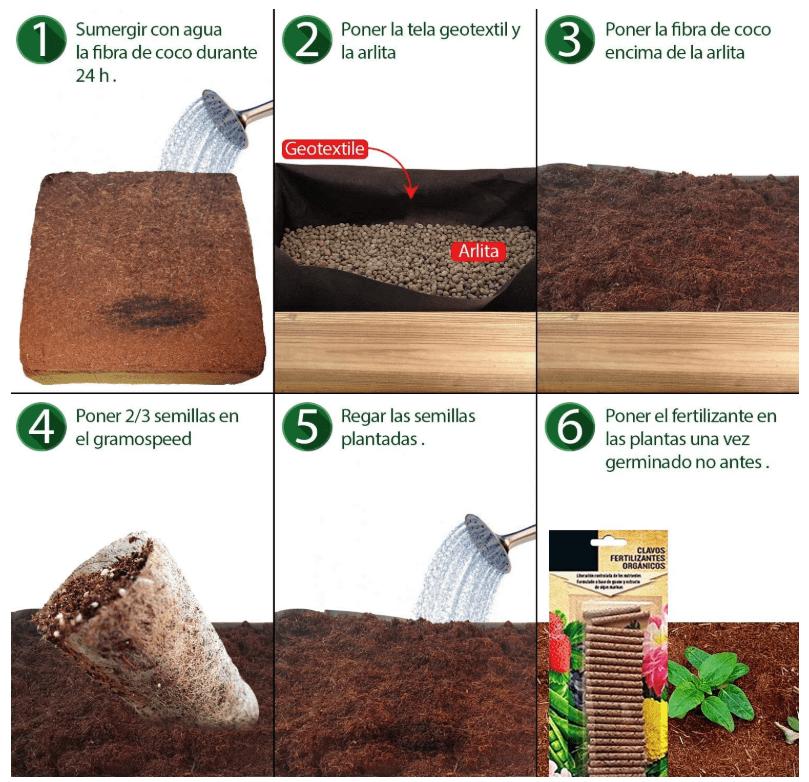 No Plan B for Earth Kit de Cultivo con Maceta de Pino Tratada. Semillas de ESTRAGON DE Rusia, GENCIANA, Ginseng, GOGI detalle