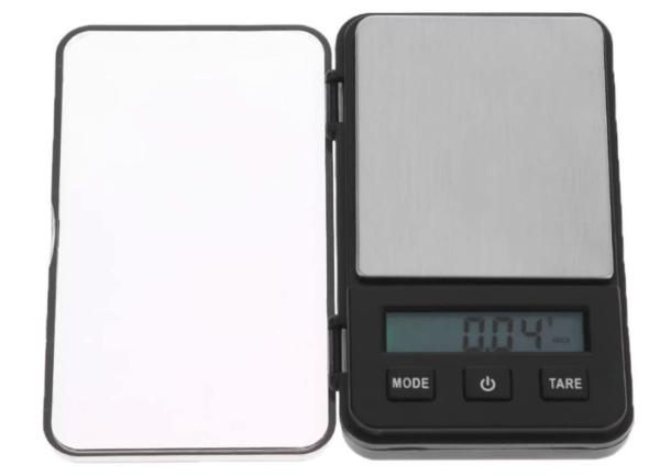 Seawang - Báscula digital de alta precisión, tamaño mini, 0,01 g, 200 g
