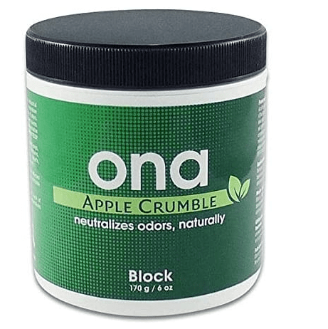ONA Neutralizador de Olores Apple Crumble Block AntiOlores (175g)